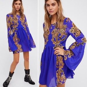 Intimately Free People Symphony slip tunic dress S